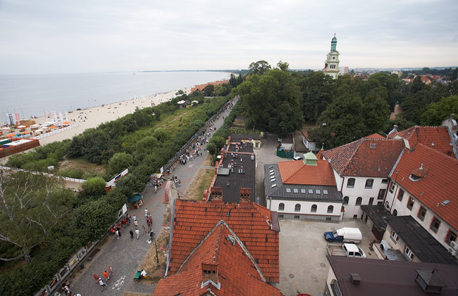 Panorama from the Sopot view tower