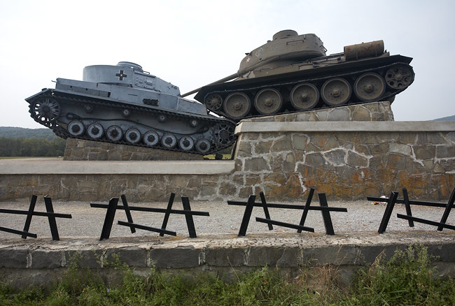 Tanks in the Valley of Death