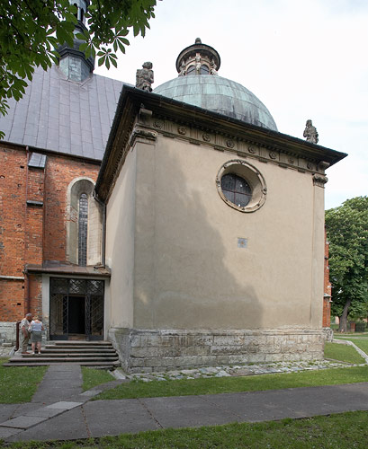 The Firlej Chapel from the outside