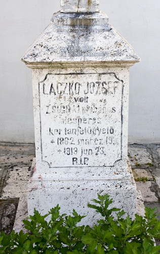 One of the tombs near the church in Žehra