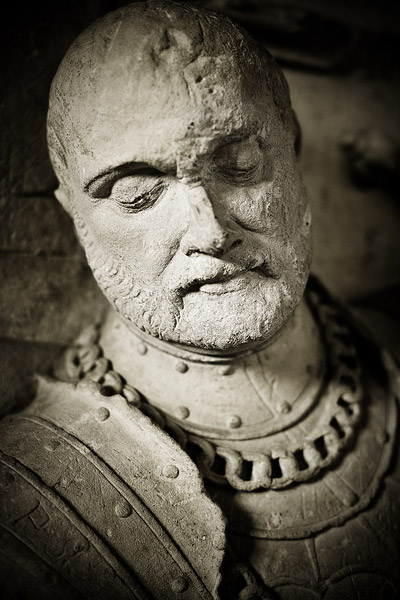 A knight from the cloisters of St. Catherine's church