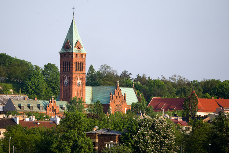 The Redemptorist church in Kraków