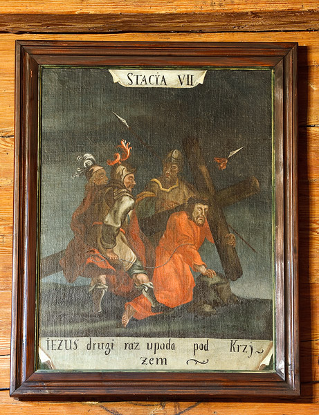 The church in Sękowa: a Baroque Station of the Cross