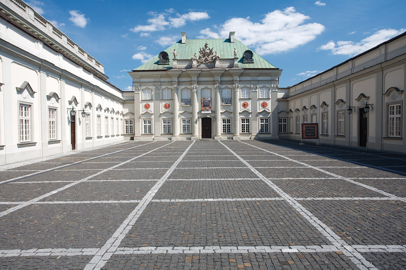 The Copper-Roof Palace in Warsaw