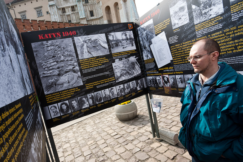 Katyn exhibition
