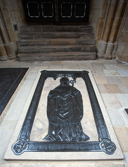 A tomb in the Princes' Chapel in the Meissen Cathedral