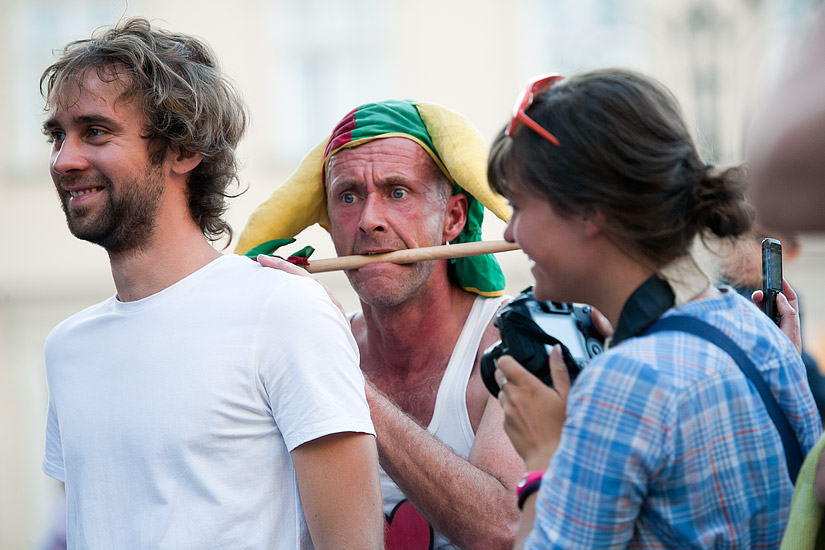 "23rd International Street Theatre Festival in Kraków: ""Pop-up!"" by Slagman Producties from Holland"