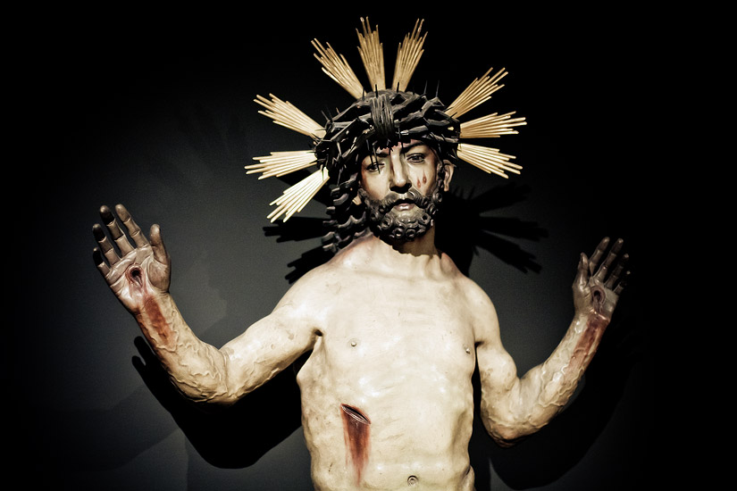 Man of Sorrows - a sculpture of Christ (1511)