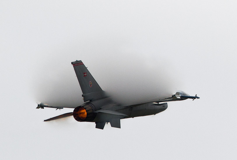 CIAF 2010: F-16 from Denmark