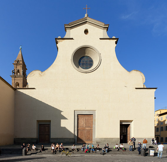 The Santo Spirito church, Florence