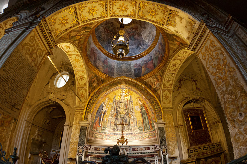 In the Naples Cathedral