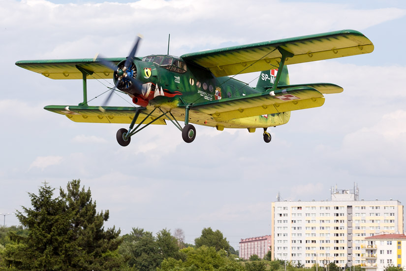 10th Air Show in Kraków: Antonov An-2