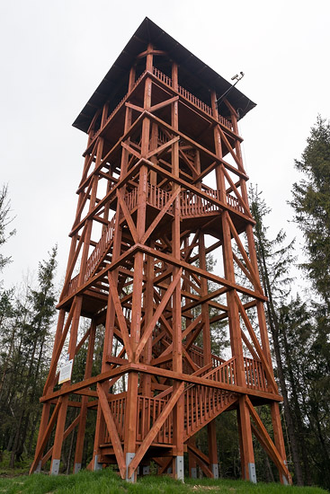 Viewing tower on Eliaszówka