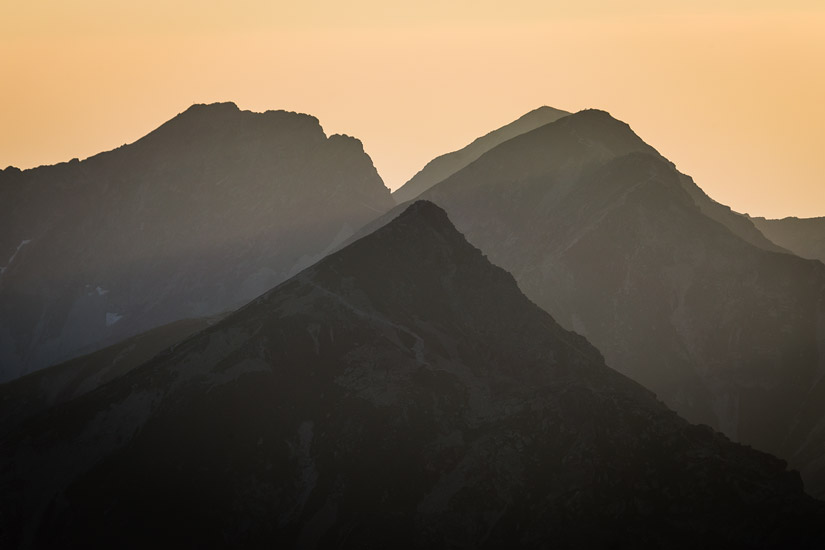 Evening in Western Tatras