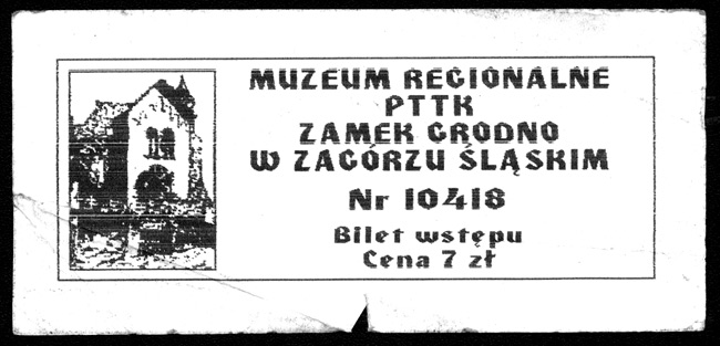 Ticket to the Grodno Castle