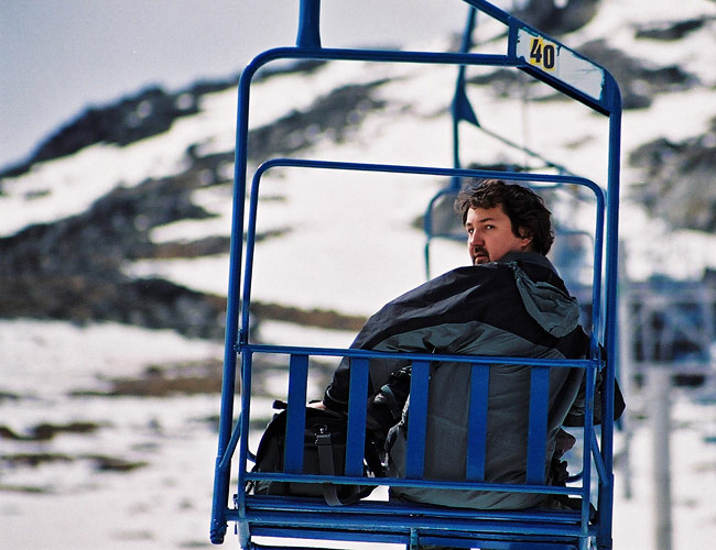 Chair lift to Lomnické sedlo