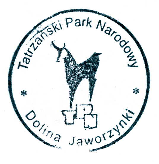 A stamp from the Jaworzynka Valley