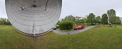 Astronomical Observatory of the Jagiellonian University in Kraków.  Click to view this panorama in new fullscreen window