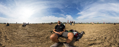 Relaxing at the traditional spotting site of the Ostrava Airport during the 15th NATO Days.  Click to view this panorama in new fullscreen window