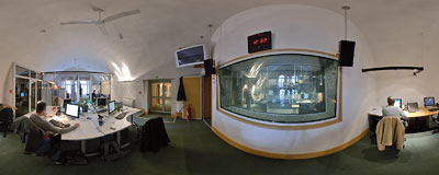RMF FM - the most popular radio station in Poland.  Click to view this panorama in new fullscreen window