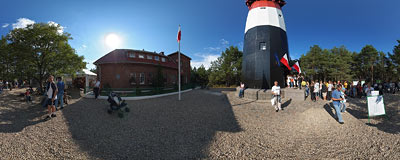 Under the Stilo lighthouse.  Click to view this panorama in new fullscreen window