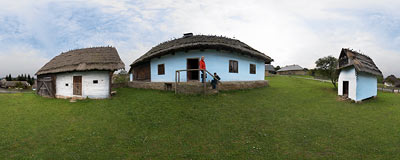 Museum of Ukrainian-Ruthenian Culture in Svidník.  Click to view this panorama in new fullscreen window