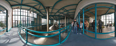 The modern part of the Żywiec Brewery.  Click to view this panorama in new fullscreen window