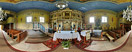 Saturday, May 14, 2011: The Eastern-Orthodox church of St. Michael the Archangel from 1863 in Dubne
