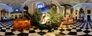 "Saturday, Dec 26, 2009: A nativity scene in the ""Na Gródku"" church in Kraków, belonging to nuns of the Dominican Order"
