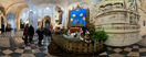 Monday, Dec 26, 2011: The nativity scene in the Gothic church of St. Catherine in Kraków