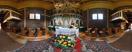 Monday, Aug 15, 2011: Inside the Eastern Orthodox church of Saints Cosmas and Damian in Krempna, Southern Poland