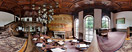 Wednesday, Aug 1, 2012: Inside the café at the Moszna Castle, Southern Poland