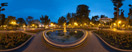 Wednesday, Jul 16, 2014: An evening in the nice City Garden of Odessa, Ukraine
