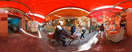 Monday, Apr 14, 2014: The popular street market in the historical Ballarò district of Palermo, Sicily