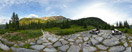 Sunday, Jul 12, 2015: At the Rázcestie pod Predným zeleným trail crossing in the Spálená dolina, Slovak Tatra mountains