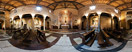 Thursday, Feb 23, 2012: Inside the church of San Benedetto in Piscinula in the Trastevere district of Rome